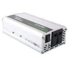 CONVERTIDOR INVERSOR PARA COCHE DE 12V A 220V 1200W INVERTIDOR DC - AC INVERTER