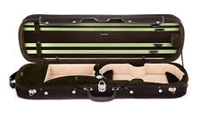 Tonareli Violin Oblong Hard Case - OLIVE VNH1202- Factory Second - SAVE 50%