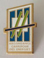 Hagondance Carrefour Des Energies Pin Badge Rare Vintage (J1)