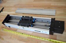 "24"" Anorad MPAS Linear Ballscrew Actuator IKO LWH20 Rails Nema34 -CNC Z-Axis DIY"