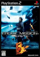 FRONT MISSION 5 PS2 Square Enix Sony PlayStation 2 From Japan