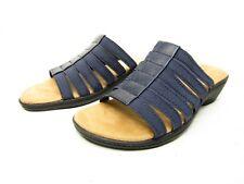 St. Johns Bay Izabel Womens Sandals Navy Size 7.5M
