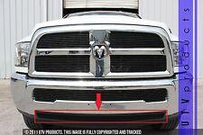 GTG 2013 - 2016 Dodge Ram 2500 3500 1PC Gloss Black Accent Bumper Billet Grille