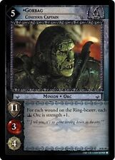 LOTR TCG Mount Doom Gorbag, Covetous Captain 10R59