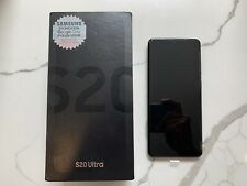 Samsung Galaxy S20 Ultra 5G SM-G988B/ Dual Sim GSM 128GB Cosmic Black (Unlocked)