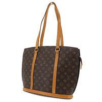 LOUIS VUITTON Babylone Shoulder Tote Bag Monogram M51102  Authentic #AB964 Y