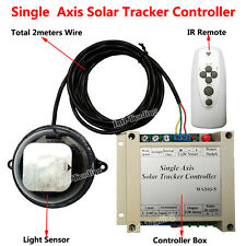 12/24V Solar Tracking Single Axis Electronic Controller for Solar Panel Tracker