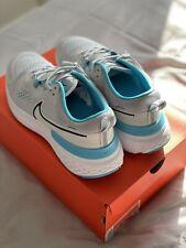 Nike React Miler 2 Platinum Running Trainers Size 9