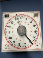 Gralab Timer Model 172 Darkroom Timer Clock Gra Lab White