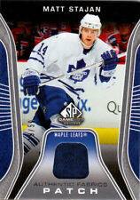 2006-07 SP Game Used STAJAN Authentic Fabrics Patch /50 SJ Maple Leafs UD MATT