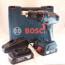 BOSCH GSR 1800-LI trapano avvitatore 18V Litio 2 batterie valigetta 06019A8305