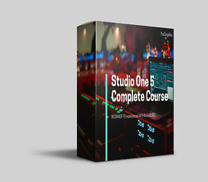 Studio One 5 Complete Course - BEGINNER TO experienced  WITHIN 6 HOURS🤳