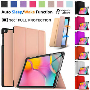 "New Samsung Galaxy Tab A 10.1"" Inch 2019 Leather Smart Stand Case Cover SM-T510"