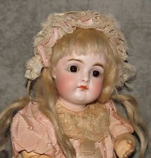 """10"""" Kestner Closed Mouth Pouty Doll~Early French Schmitt Type Body~Lovely & Rare"""