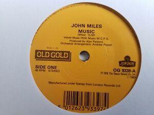"John Miles - Music - 7"" Vinyl Single"