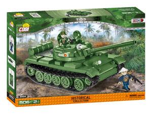 Cobi-2234 - T-55 Tank (506pcs)  - Building Blocks - Vietnam War 1955-75