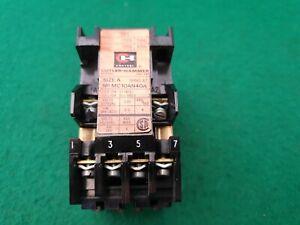 Cutler Hammer MC10AN40A  Contactor  110 Volt Coil 16 Amp
