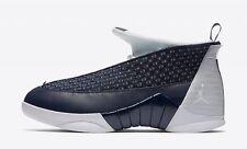DS Nike Air Jordan 15 Retro XV Obsidian Basketball Navy Size 9