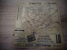 INDICATEUR CHAIX  - CHEMIN DE FER - SNCF - JUIN 1954  ( ref 66  )
