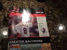 RARE...VERIZON SUPERPAGES 2001 CAL RIPKEN JR GREATER BALTIMORE