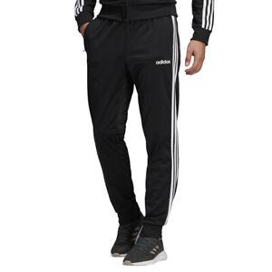 Adidas Pantaloni da Uomo Essentials 3-Stripes Tapered Tricot Nero Codice DQ30...