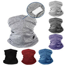 Bandana Face Covering Biker Gaiter Tube Snood Scarf Neck Cover Seamless Kids