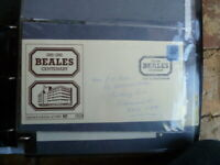 BEALES CENTENARY COVER 1881-1981 LIMITED EDITION WITH SPECIAL POSTMARK