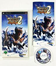 ©SONY PSP/Capcom MONSTER HUNTER FREEDOM 2 dt OVP Rollenspiel/Multiplayer/Bestien