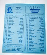 WLS Chicago Radio Survey Music Chart April 21 1979 Gloria Gaynor Frank Mills