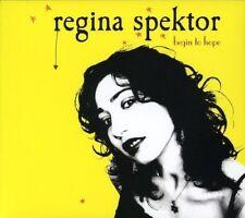 REGINA SPEKTOR Begin To Hope 2CD NEW Special Edition Digipak