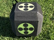 Archery Polyhedral Target 3D High Density Self Healing Foam Cube 23 23 23cm