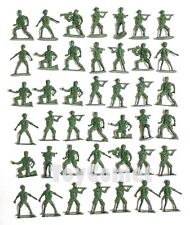 40 pcs Military Plastic Toy Soldiers Army Men Green 6cm Figures