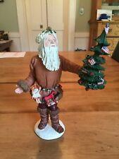 "Vtg1983 Duncan Royale History of Santa Pioneer Figurine 12""Limited Edit Repaired"