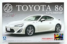 AOSHIMA pre-painted series #35 1/24 Toyota 86 GT Limited White scale model kit