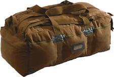 """Coyote Brown Military Israeli Mossad Duffle Bag Backpack 34"""" x 15"""" x 12"""""""
