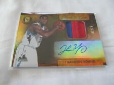 2014-15 Panini Gold Standard BKB MARKS OF GOLD #31 Thaddeus Young AUTO #/25 !!