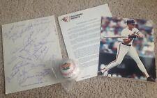 Baltimore Orioles Ripken Jr. Photo, Team Autographs, '83 All Star Baseball, +++