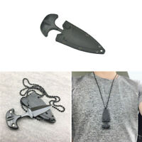 Outdoor Pocket Knife Survival Camping Knives EDC Stainless Steel Necklace Knife