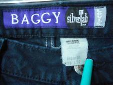 Levi Silver Tab Baggy Jeans 5 pocket USA made  38W x 32L