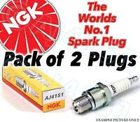 2x NEW NGK Replacement SPARK PLUGS - Part No. BPR4ES Stock No. 7222 2pk