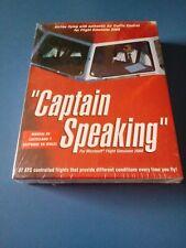 Captain Speaking Juego PC CD ROM - Español NUEVO PRECINTADO - Just Flight