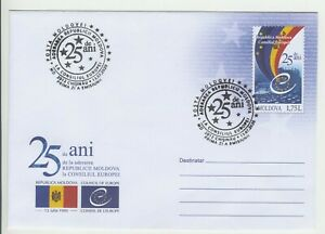 2020 , Moldova , The Council of Europe , Flag , Pre-paid envelope
