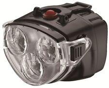 Bike Handlebar Front 3X White LED Headlight Lamp High/Low Beam HB-122V AKSLEN