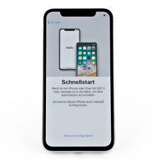 Apple iPhone X 64GB Silber iOs Smartphone Gebrauchtware Display eingebrannt
