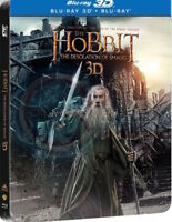 The Hobbit: The Desolation of Smaug [3D + Blu-ray] [Steelbook] English, ETC
