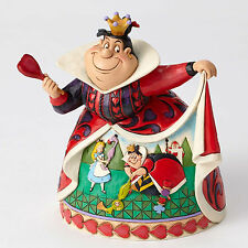 Disney Traditions Jim Shore Queen of Hearts Figurine Alice Wonderland