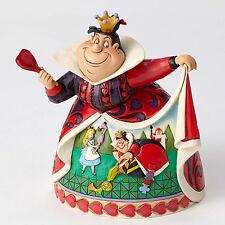Disney Traditions Jim Shore Queen of Hearts Figurine Alice Wonderland Red Queen