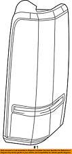 Jeep CHRYSLER OEM 08-12 Liberty-Taillight Tail Light Lamp Left 55157347AC