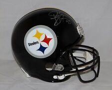 Troy Polamalu Autographed Full Size Pittsburgh Steelers Helmet- JSA W Auth
