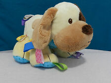 TAGGIES BUDDY PUPPY DOG MARY MEYER PLUSH TAN BROWN BABY LOVEY STUFFED